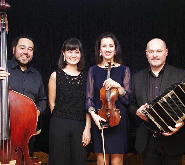 Pato Banda, Keiko Hattori, Christina Tsiakiris, Daniel Gruselle