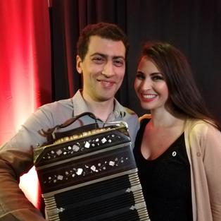 Vanina Tagini und Gabriel Merlino