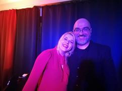 Evelina Pabarciute und Pierre Alain Goualch im Café de Paris SaarbrückenGoua