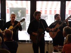 Gilles Maire im Café de Paris Saarbrücken