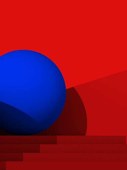 BLUE Homogenous Sphere