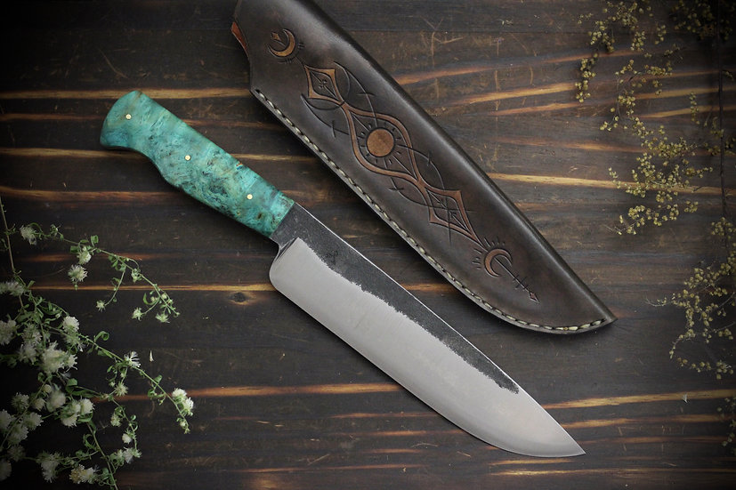 Hand Forged Drop Point Blade