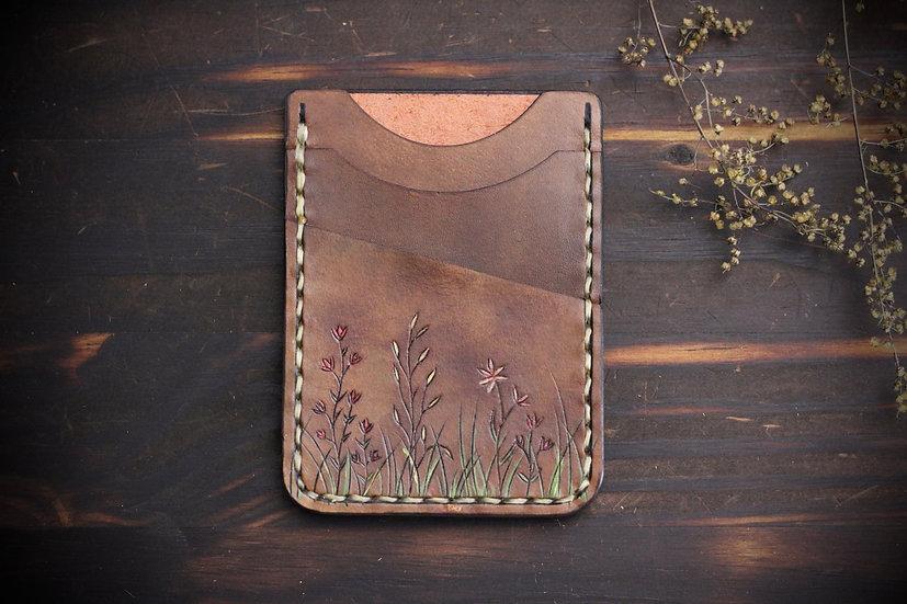 Wildflower Card Wallet