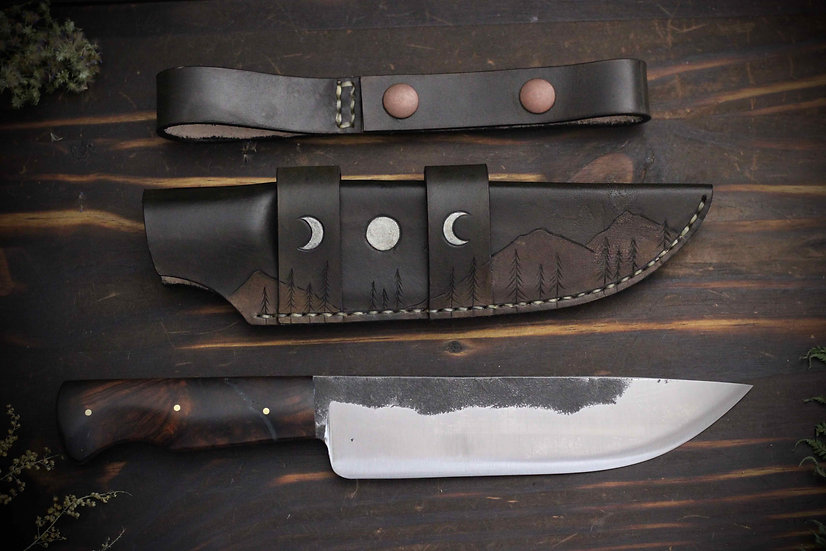 Hand Forged Mid-Sized Multi-Carry Knife