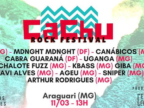 #COLUNAS/ENTRENÓS: Festival promove dez horas de música em cachoeira