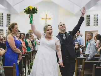 O ideal é ser uma noiva feliz e não uma noiva perfeita!