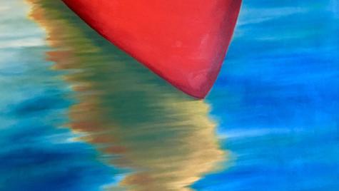 Canoe on Muskoka