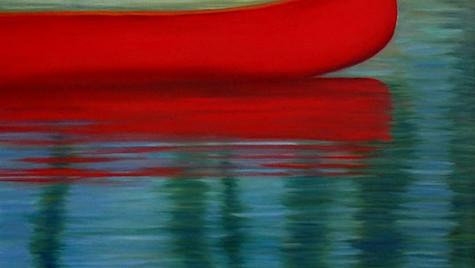 Red canoe whitefish 2