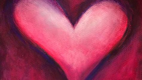 Fuscia Heart