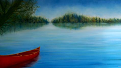 Vintage canoe 2