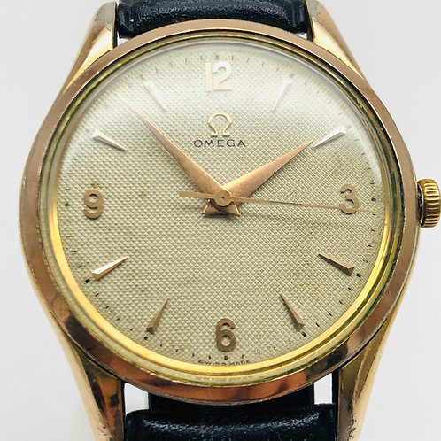 Omega Cal.283 BK 2504-2 Rare Honeycomb Dial Original