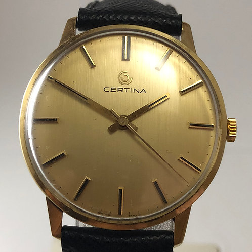 Certina 14K SOLID GOLD