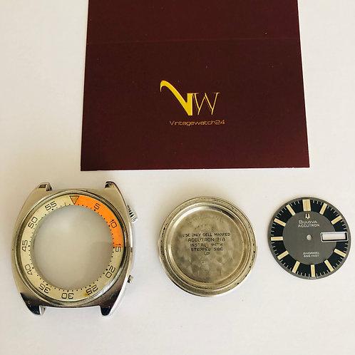 Bulova Accutron 218 Snorkel 666feet dial case 781 tool accessory
