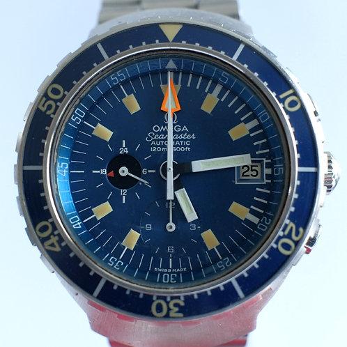 Omega Seamaster Automatic 120m Chronograph BIG BLUE 176004