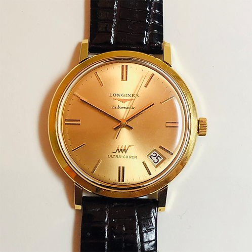 Longines Ultra-Chron 18K solid gold Limited Edition