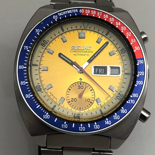 Seiko 1970's Seiko Pogue Chronograph Automatic Pepsi cal 6139-6012