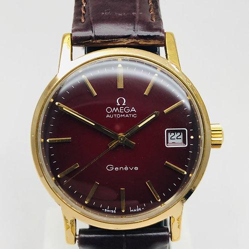 Omega Genève 1012 calibre , Bordeaux , Automatic