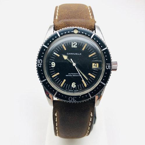 Caravelle Vintage Dive Watch 665-1