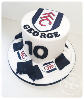Fulham Football Club Cake