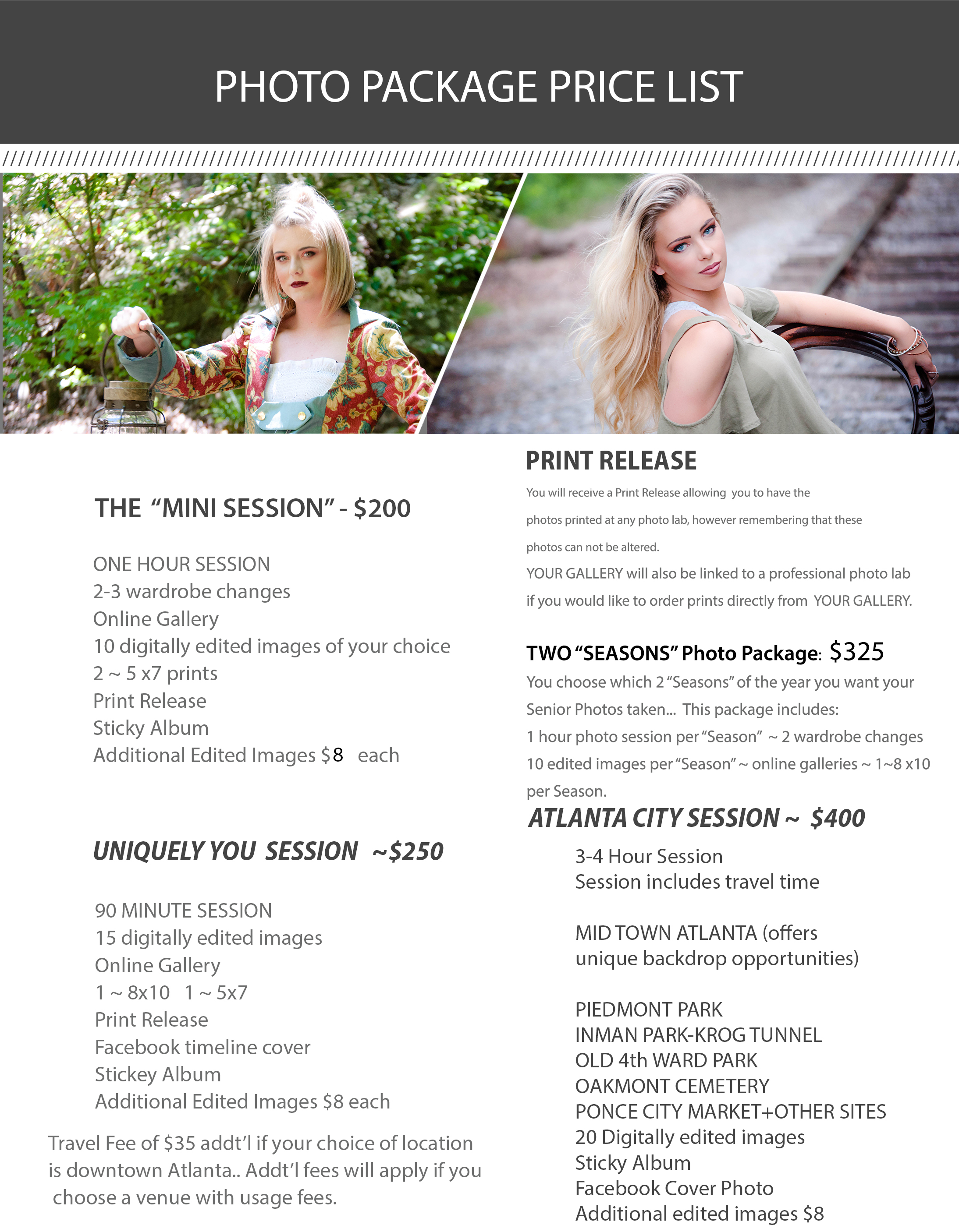 1-PriceList-Collections.psd DSP Photo Packages