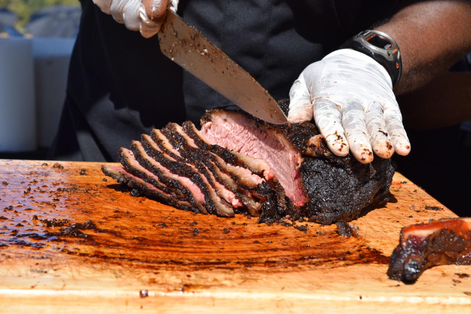 Brisket at Texas Monthly BBQ Fest
