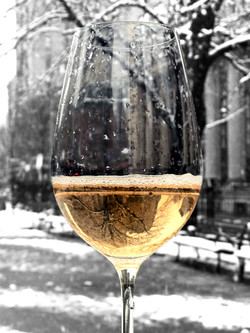 Wine in a snowstorm