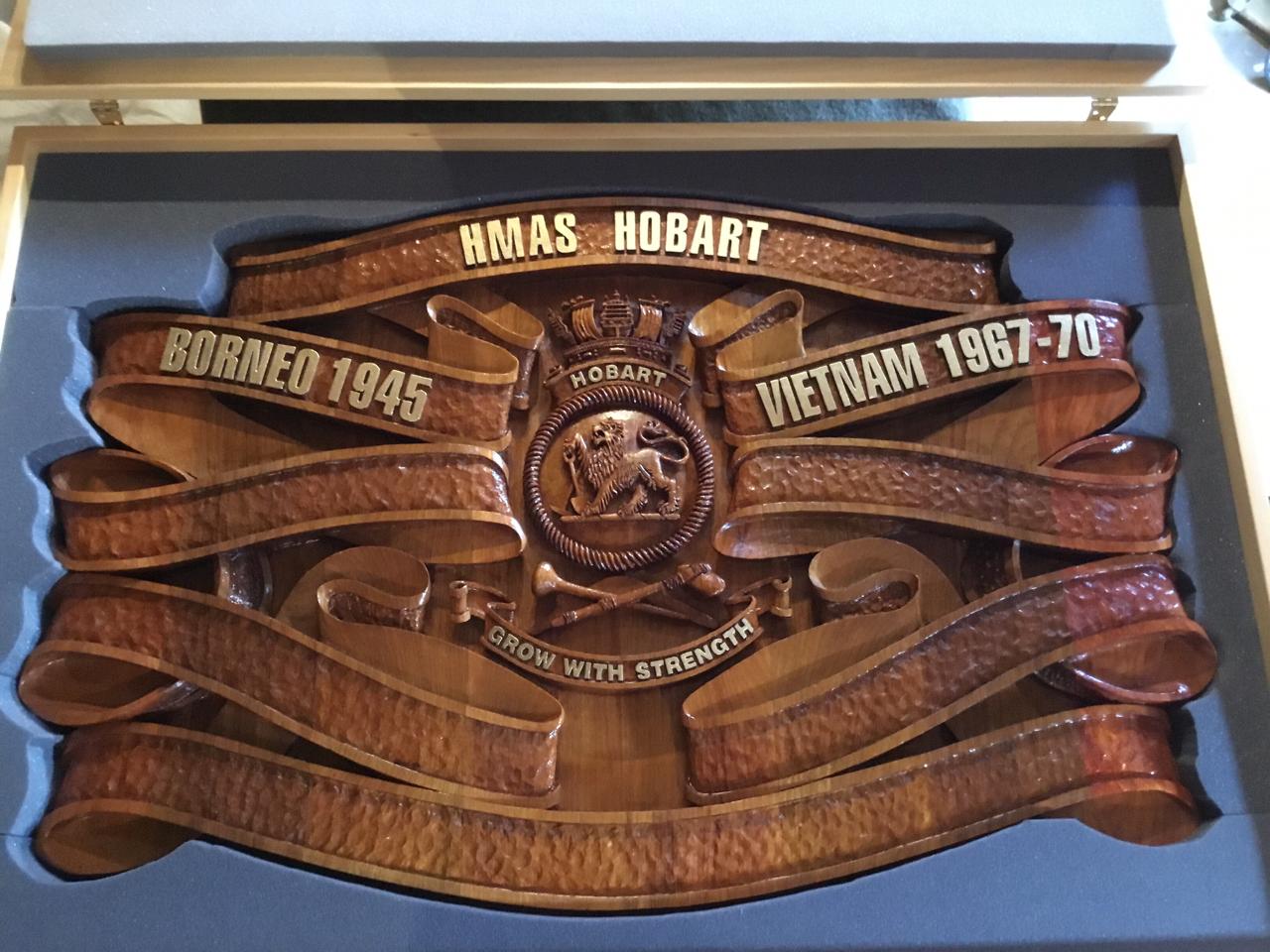 2nd HMAS Hobart Battle Board