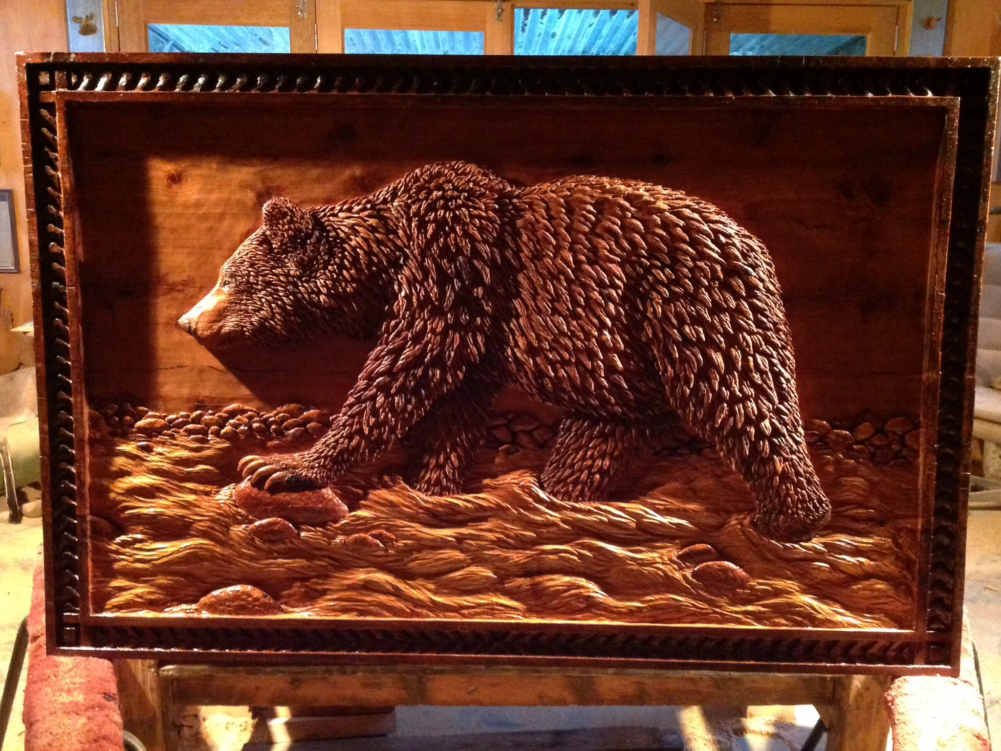 Grizzly Wall Panel