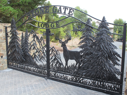 CUSTOM DEER GATES