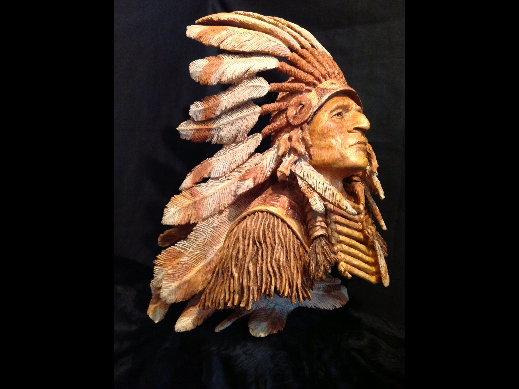 'PRIDE OF THE SIOUX' INDIAN CHIEF