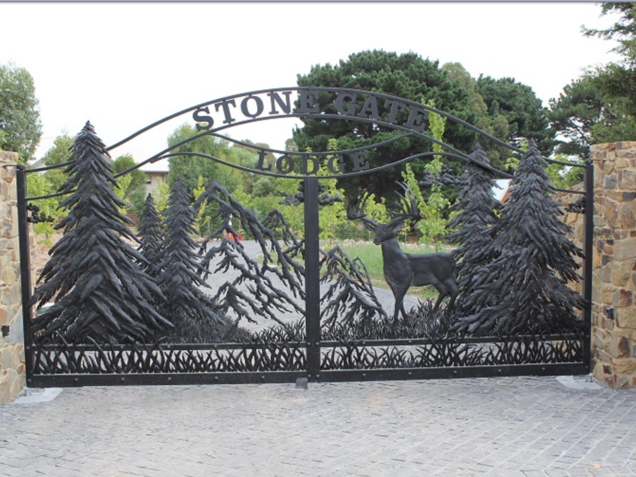 CUSTOM METAL DEER GATES