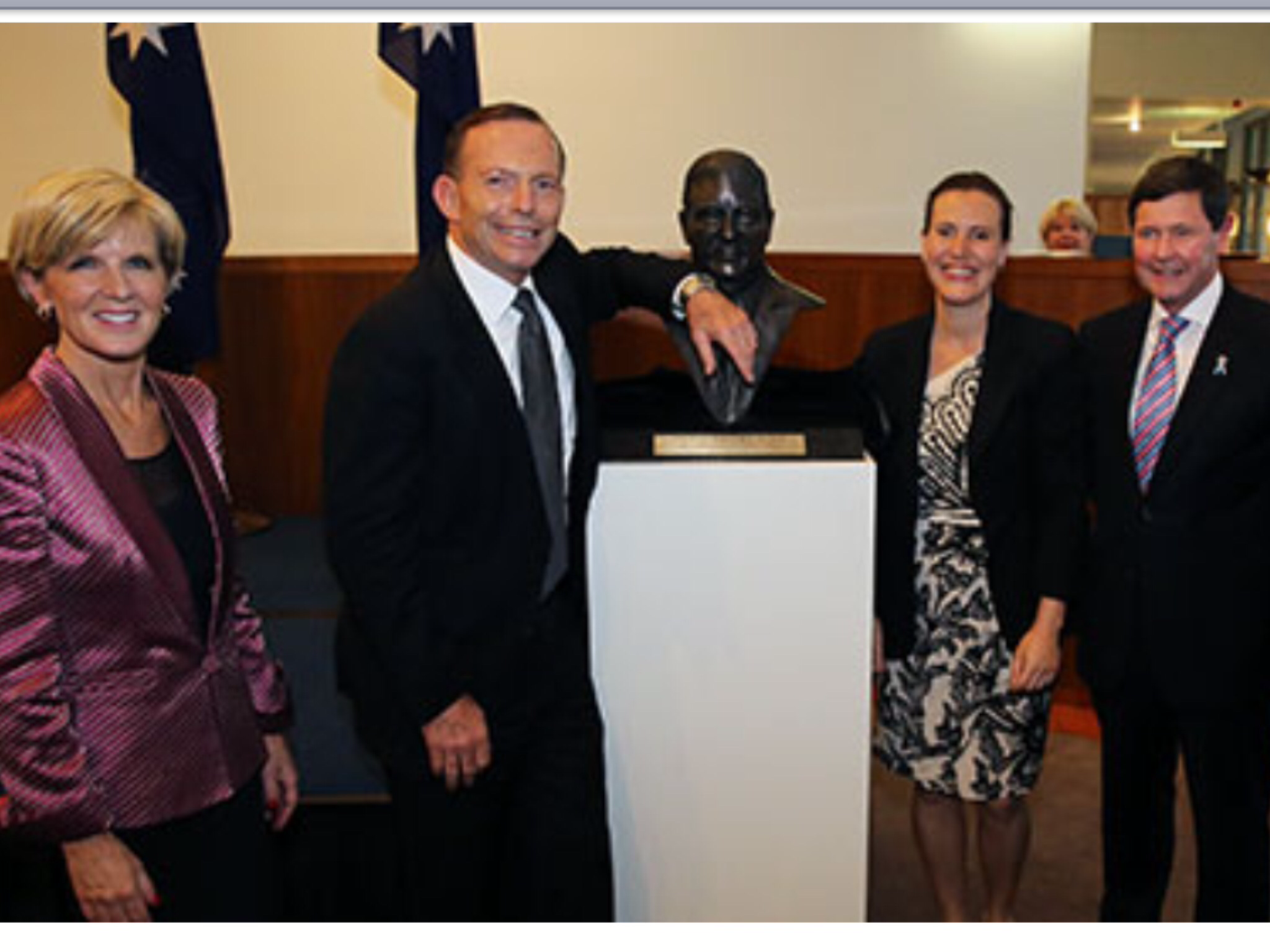 SIR ROBERT MENZIES BUST