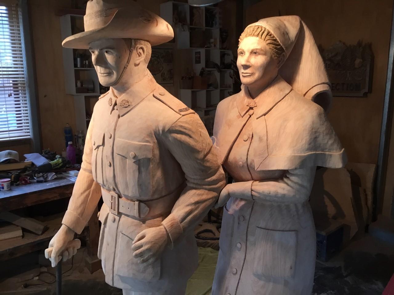 WW2 Soldier & Nurse