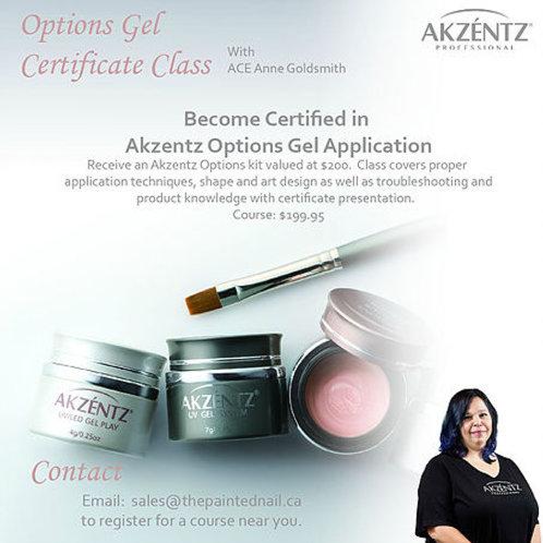 Options Certification Class