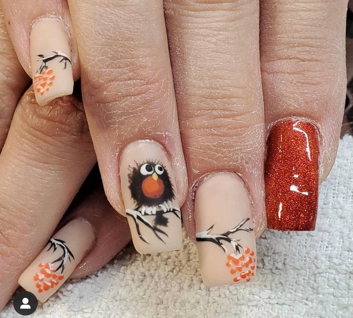 Full Hand Nail Art