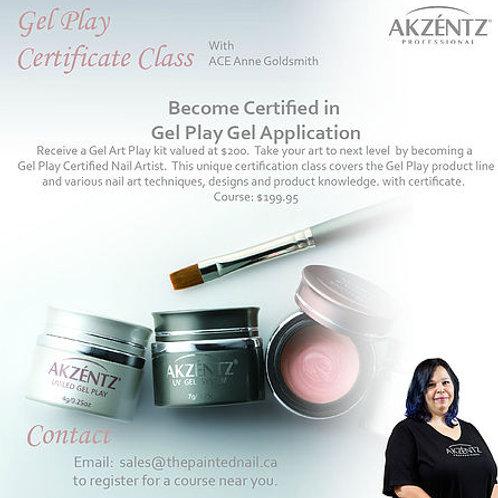 Gel Play Certification Class