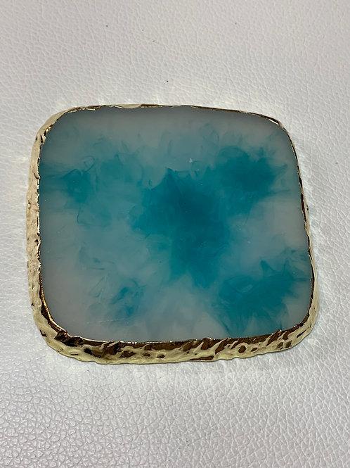 Square Mixing Palette - Blue