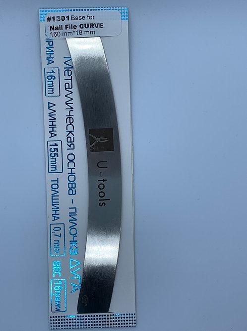 Stainless Steel Base - Peel & Stick Boomerang