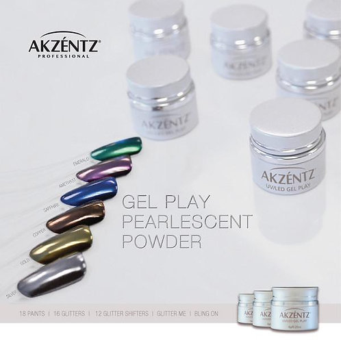 Pearlescent Powder Kit - 2g jars