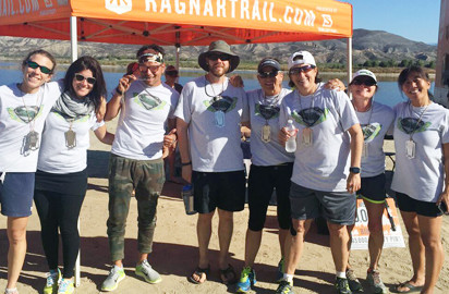 """The """"Scripps-onites"""" Conquers 115-mile relay trail."""