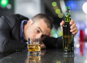 Alcohol binge-drinking facilitates the transition to dependence, but regular drinking may be almost