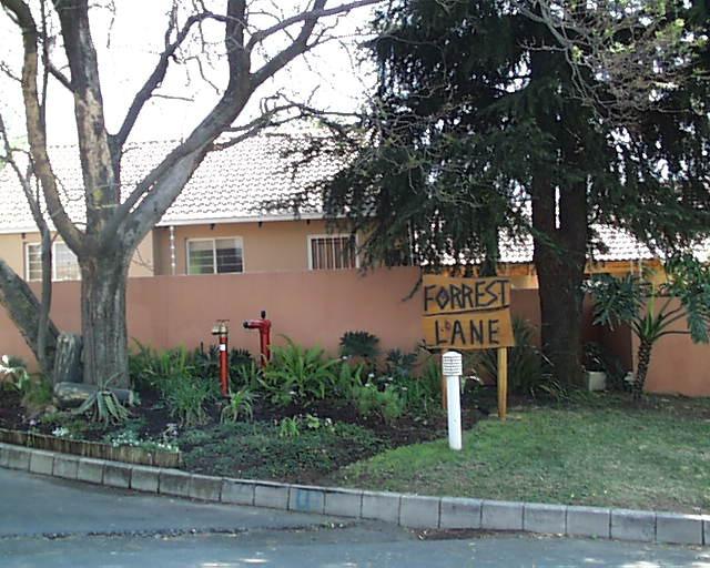 Forrest Lane gate