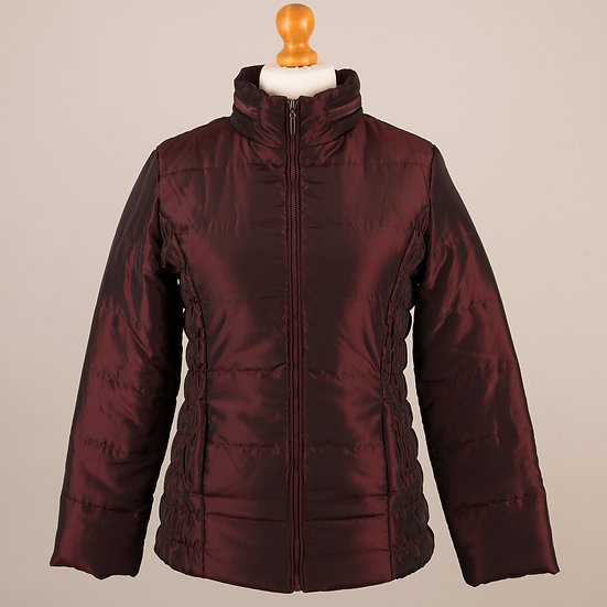 Hooded Jacket - Cherry