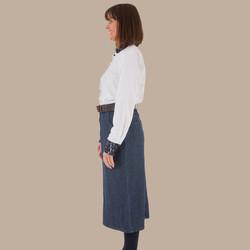 Calf Length Skirt - Side