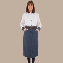 Calf Length Skirt - Front