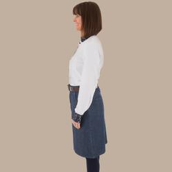 Knee Length Skirt - Side