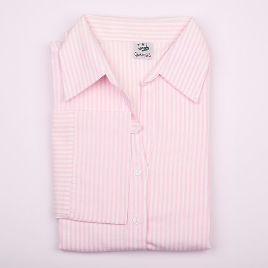 Pink Stripe_Tunic_Folded