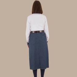 Calf Length Skirt - Back