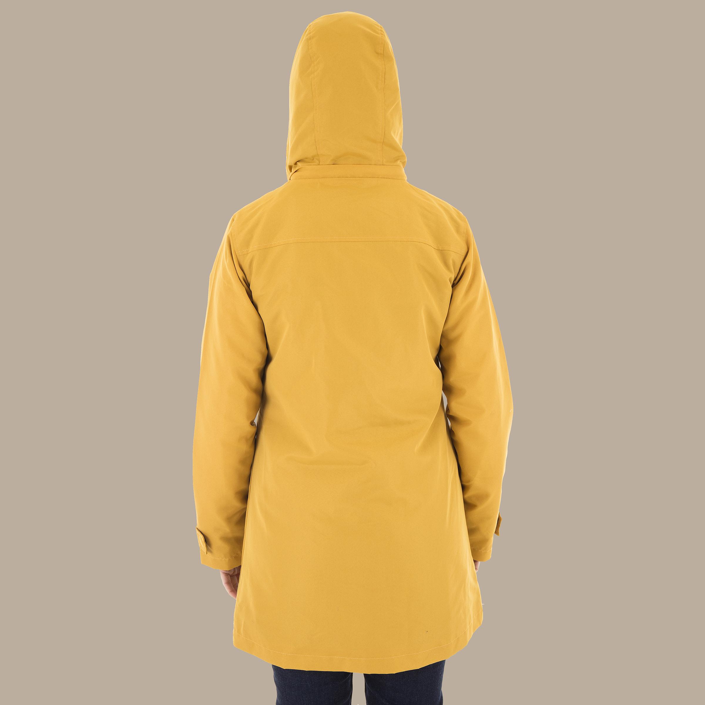 Rain Jacket_Back_Hood Up