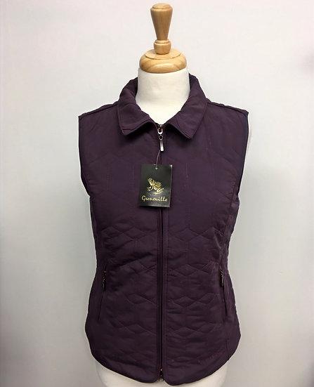 Diamond Gilet - Purple - size 10